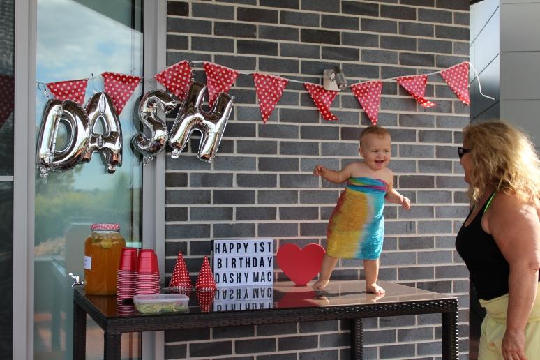 Dash's 1st Birthday & Naming Day Celebrations