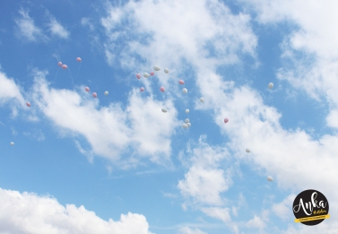 Addison - Balloons in sky
